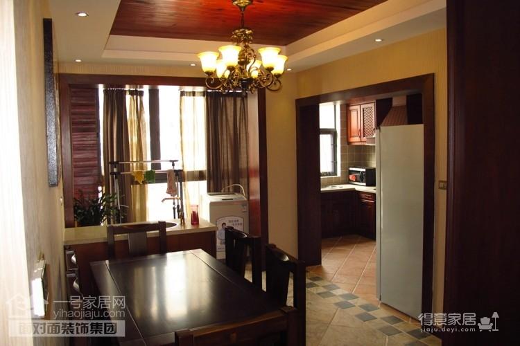 盛世家园160平四室两厅东南亚风格图_2