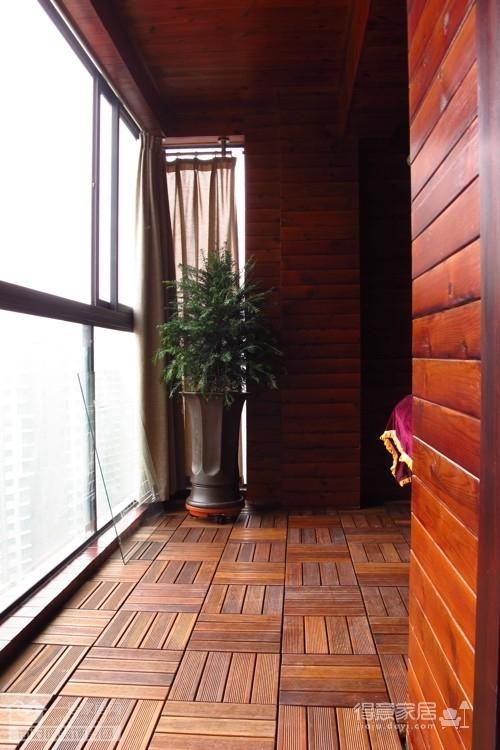 盛世家园160平四室两厅东南亚风格图_6