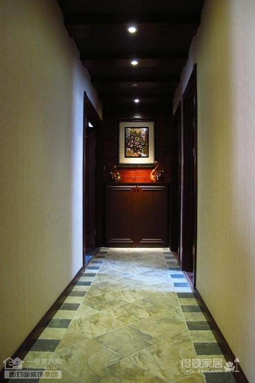 盛世家园160平四室两厅东南亚风格图_10