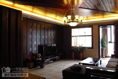 盛世家园160平四室两厅东南亚风格