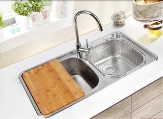 白鸟水槽双槽套餐ID900+HJ9005