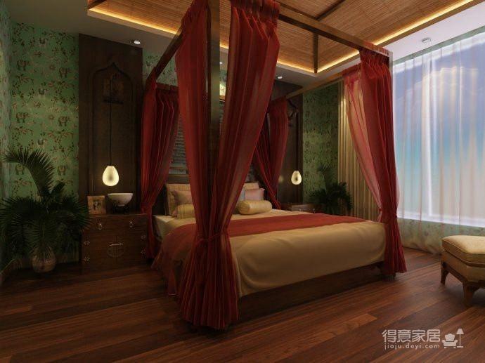 原生态东南亚4居室