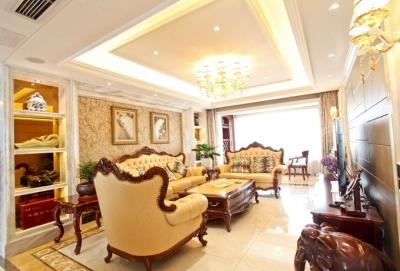 上海公馆美式风格三室两厅
