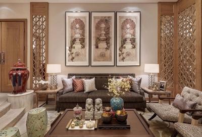 泛海国际新中式三室两厅