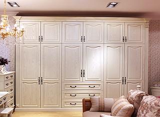 定制衣柜、实木衣柜、原木衣柜