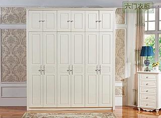 欧式衣柜定做,可根据风格设计!