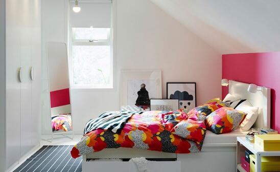 空间用尽整洁依旧 小户型卧