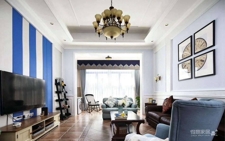蓝色地中海风格