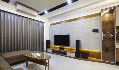 现代简约四居室,超多实用的收纳功能!