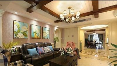 温馨格调,138平美式风格三居室