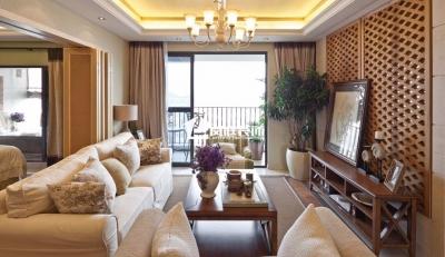悠闲的东南亚风格,色彩淡雅、清新、自然,仿佛进入度假村的放松感,