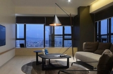现代简约光明上海公馆两室两厅87平米图_3