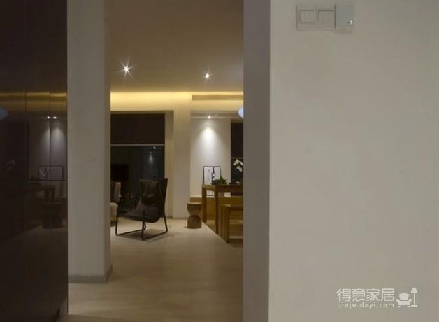现代简约光明上海公馆两室两厅87平米图_7
