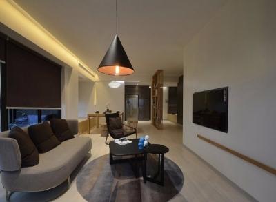 现代简约光明上海公馆两室两厅87平米