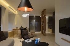 现代简约光明上海公馆两室两厅87平米图_1
