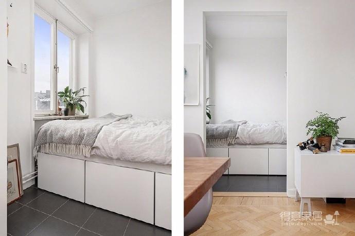 北欧40平米一居室小公寓