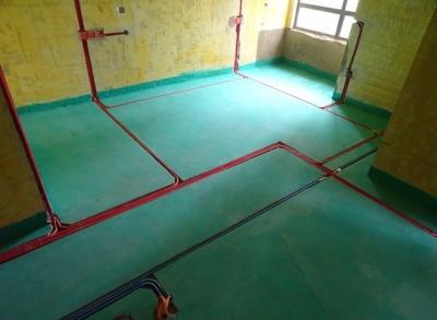 世茂林屿岸两室两厅水电验收图