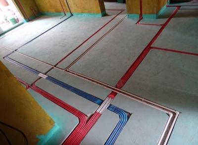 三角花园三室两厅水电验收
