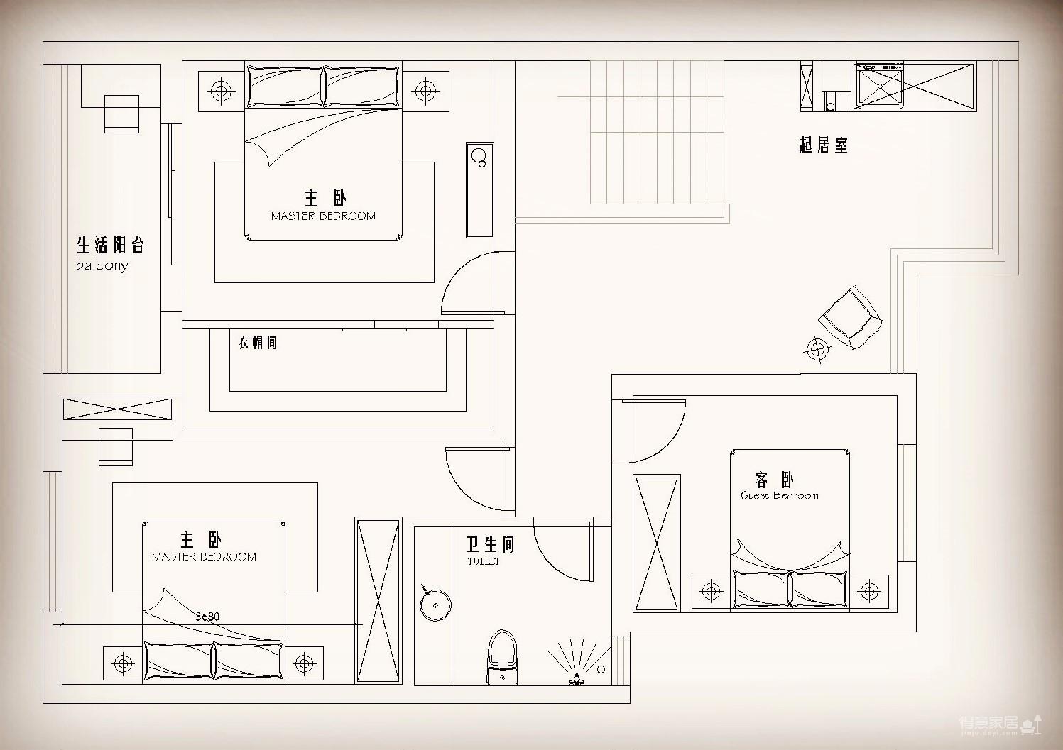 武汉ID设计——龙先生的家