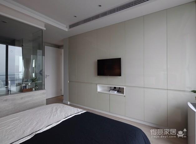 金地天悦3室1厅现代风格效果图图_5