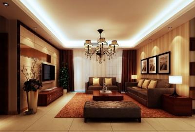 保利中央公馆124平四居室后现代风格