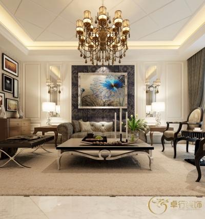 【港湾江城】大客厅就要装欧式