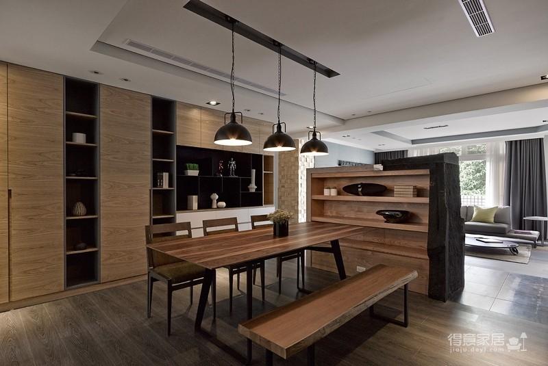 木质空间,简单,自然