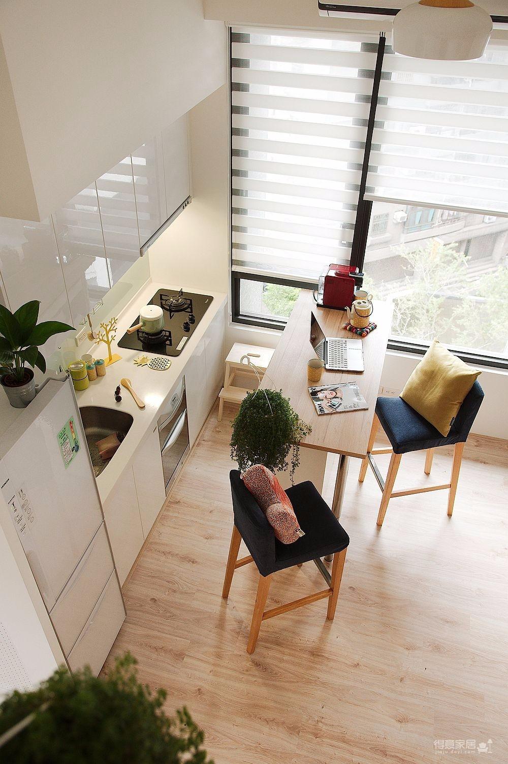 50平清新小公寓图_8