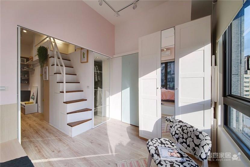 50平清新小公寓图_6