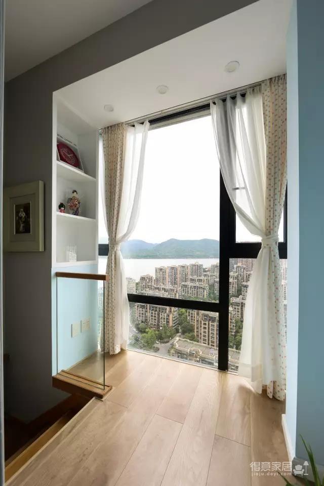 小复式80平,客厅大飘窗好好看!图_26