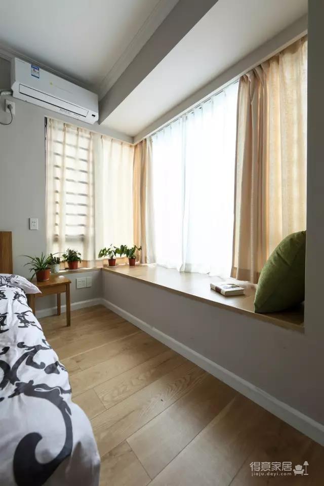 小复式80平,客厅大飘窗好好看!图_18