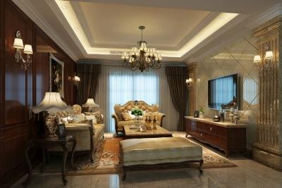 枫华锦都139平四居室新古典