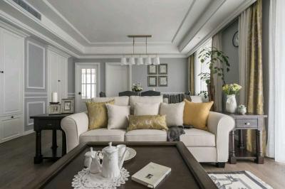 美式风格三室两厅