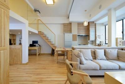 素净整洁 功能清晰70平米的日式单身公寓