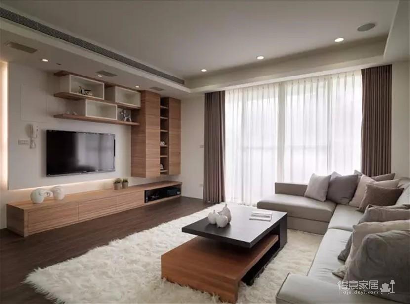 130平原木现代设计