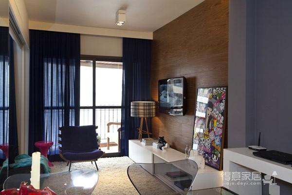 45平现代风格小户型公寓图_6