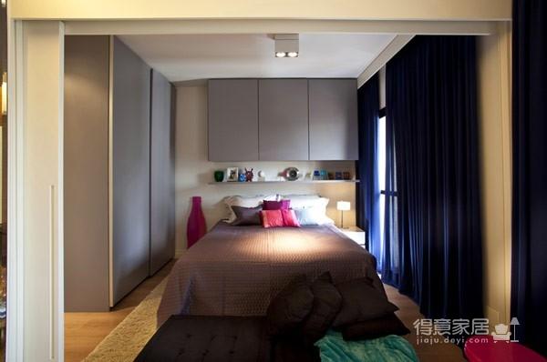 45平现代风格小户型公寓图_9