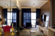45平现代风格小户型公寓图_4