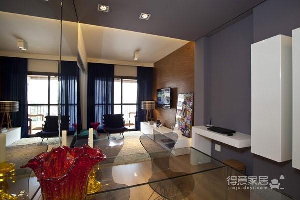 45平现代风格小户型公寓图_8