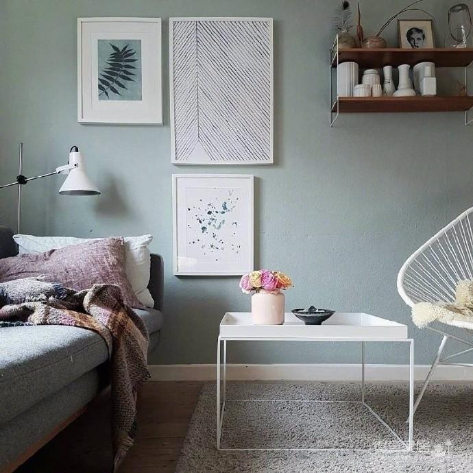 少女卧室装修效果图_莫兰迪色系的少女房间装修效果图_得意家居装修图库_得意家居网