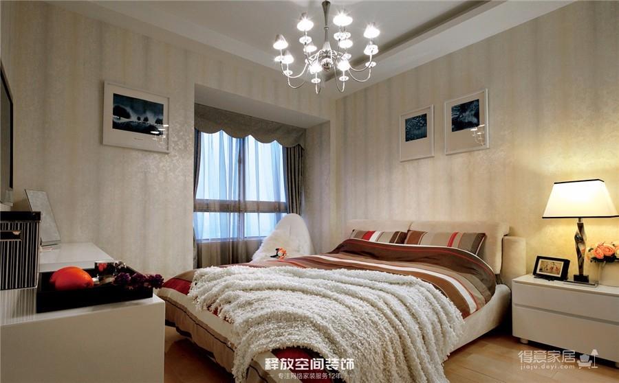 海赋江城  现代简约风格  118平图_3