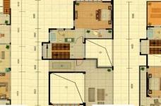 捌号空间原创设计:欧式轻奢作品图_3