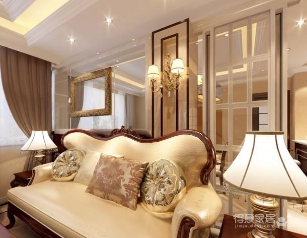 【武汉一号家居】大华南湖世家158平四居室简欧风图_1