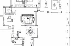 【武汉一号家居】大华南湖世家158平四居室简欧风图_3