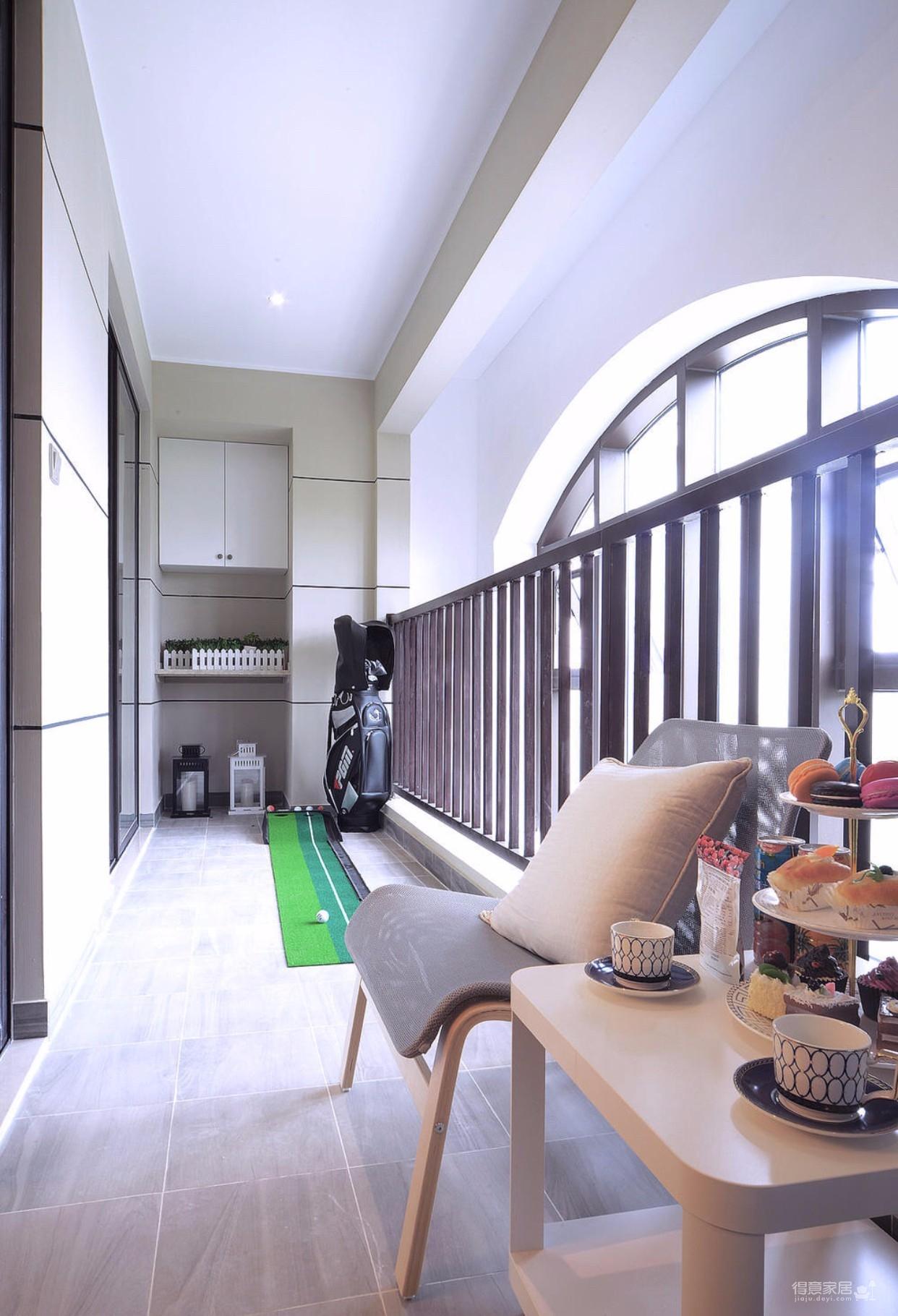 欧式三室两厅案例