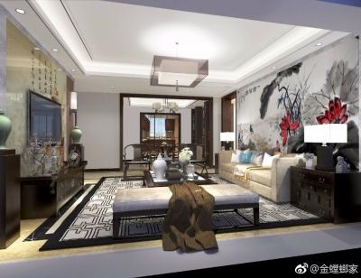 新中式风格万科水晶城