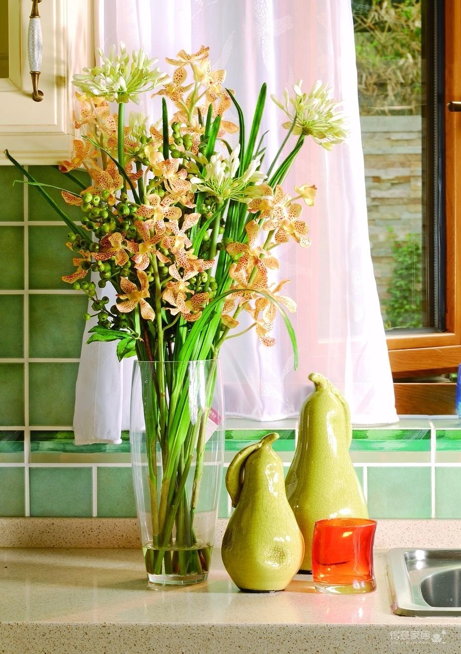 神奇的别墅装饰把春天留在家里