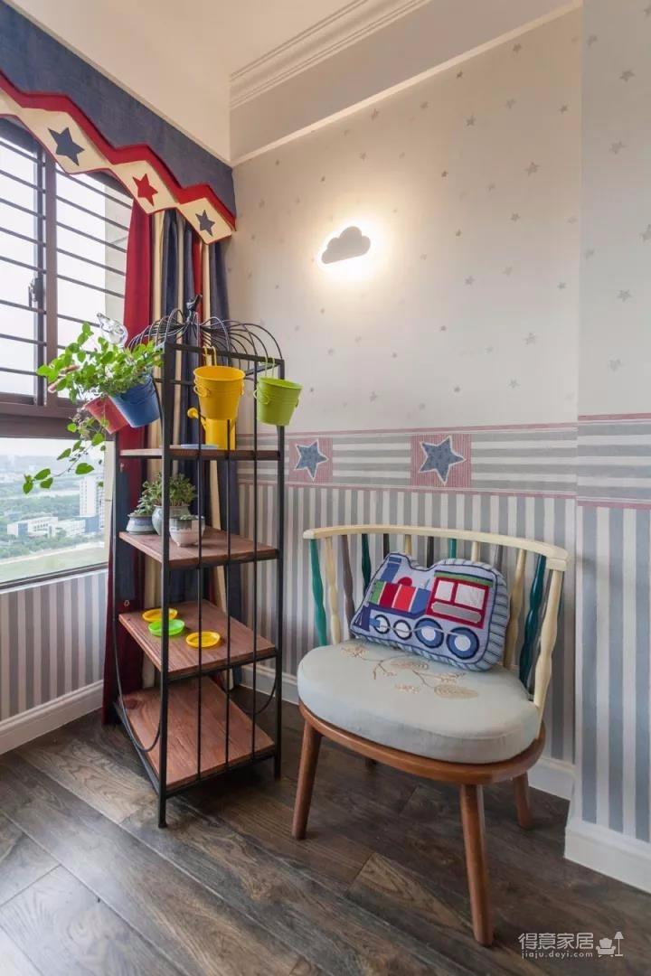 142㎡现代美式混搭北欧,精致、清爽的家居空间!