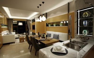 柔和的居室大气却又不失温馨,值得一看。
