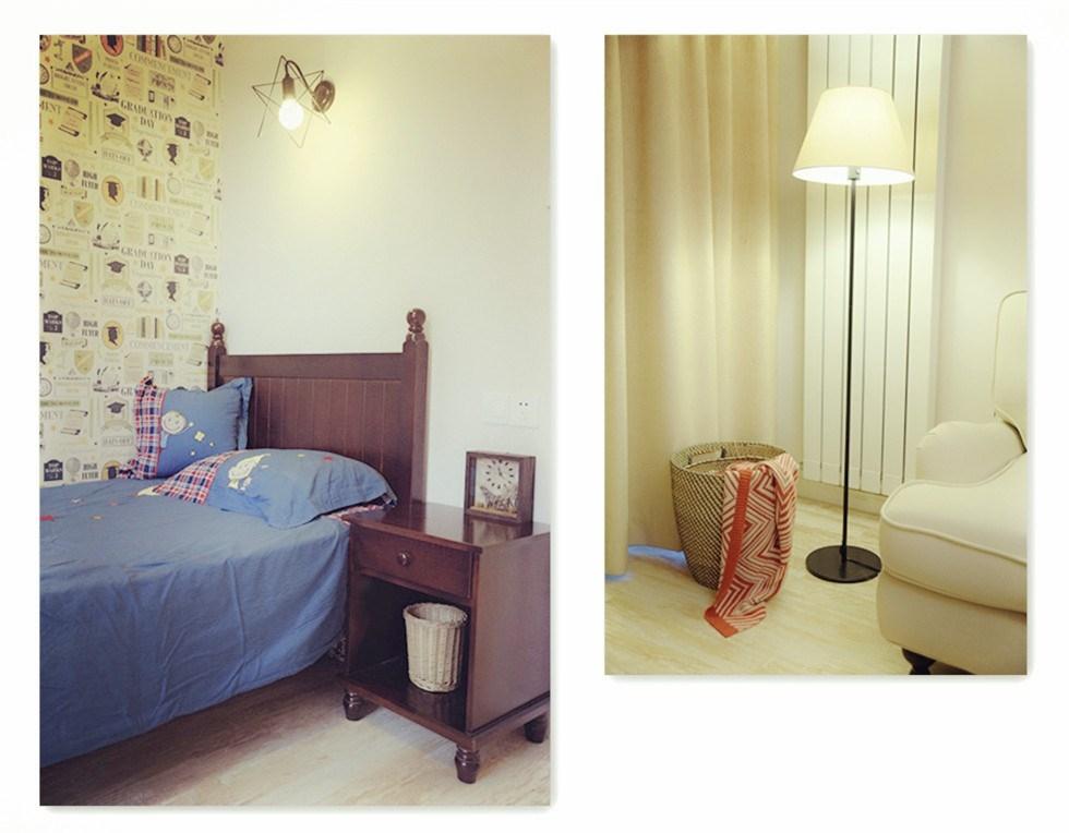 90后两室一厅96平米小窝,小美风格